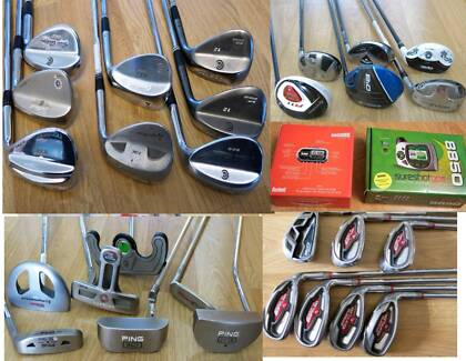 Mens/Ladies Ping ,Calllaway  Irons, Putters Golf Clubs. R.H & L.H