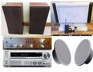 Sansui,Bose ,B&W, Speakers,Amplifiers South Yarra Stonnington Area Preview