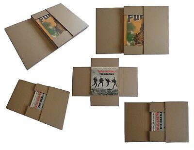 50 Cajas Embalaje Envio Discos 25 Para Enviar LP + 25 Para...
