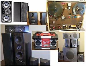 Jensen,Dali Wharfeda, Speakers, Bose , Subwoofer Tape Players South Yarra Stonnington Area Preview
