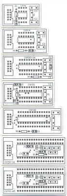 Blank Pcb Isp Breakout Board Avr Atmega Attiny 8051 8052