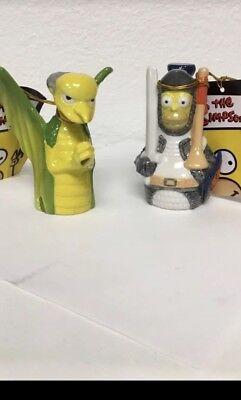 Homer Simpson And Mr Burns Shot Glasses - Mr Burns Homer Simpson