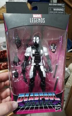 Deadpool Marvel Legends Back In Black 6 Inch Deadpool Action Figure Exclusive