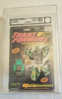 Transformers Generation 2 Beachcomber (Hasbro 1992) AFA 85 80/90/90