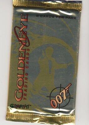 James bond ,007 goldeneye    , trading card pack