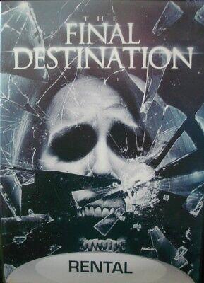 The Final Destination (DVD, 2010, Rental Exclusive) NEW (Final Destination Halloween)