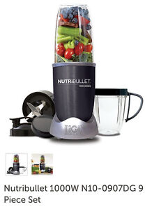 NutriBullet 1000 Series 9 Piece Set Liverpool Liverpool Area Preview
