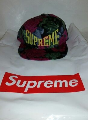 Supreme Floral 5 Panel Hat Week 19 in hand. Ready to ship out Priority  ()