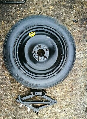"GENIUINE FORD TRANSIT CONNECT SPACE SAVER 16"" SPARE WHEEL & TYRE & JACK KIT"