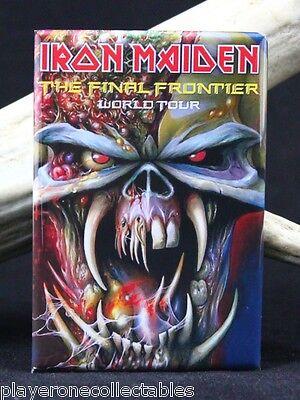 """Iron Maiden Concert Poster 2"""" X 3"""" Fridge / Locker Magnet. Eddie"""