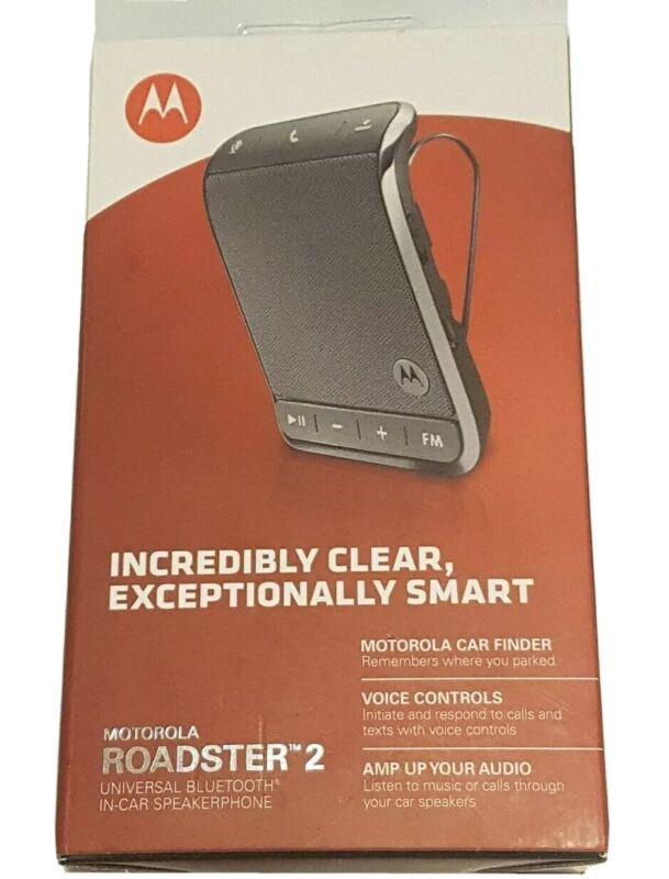 Motorola Roadster 2 TZ710 Wireless Bluetooth Car Speakerphone w/ FM Transmitter