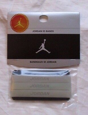JORDAN WRIST ID BANDS BANDEAUX Change color in sunlight JUMPMAN BALLER sillicone