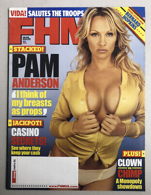FHM Magazine July 2005 Pamela Anderson FREE SHIPPING