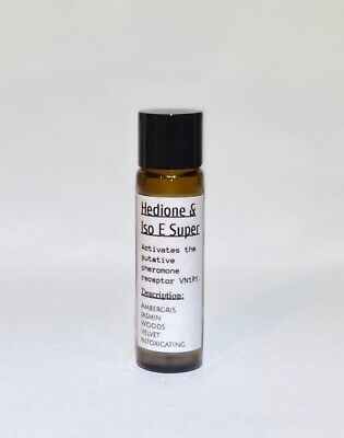 Molecule + Hedione (Scientifically Proven Sexual Pheromone activator) 10g Oil 01