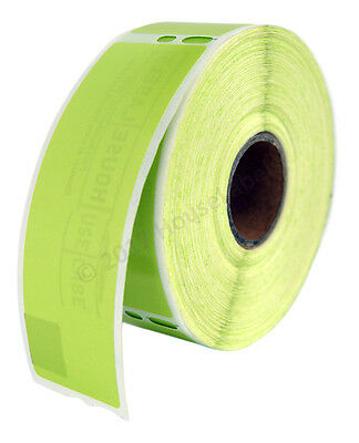 2 Rolls Of 350 Green Address Labels For Dymo Labelwriters 30252