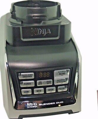 Ninja Blender Motor Radical Duo Auto IQ BL642 BL682 1500 Watt Base NEW