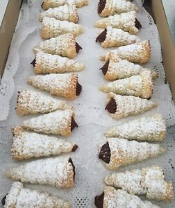 Something other then cup cakes?? Order homemade Italian custard Horns Beeliar Cockburn Area Preview