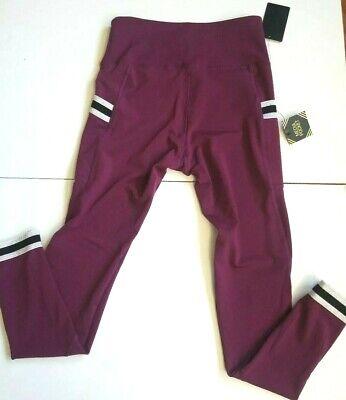 NEW BSP Better Sports Performance Womens Training Yoga Leggings Pants Size M (Best Breathable Yoga Pants)