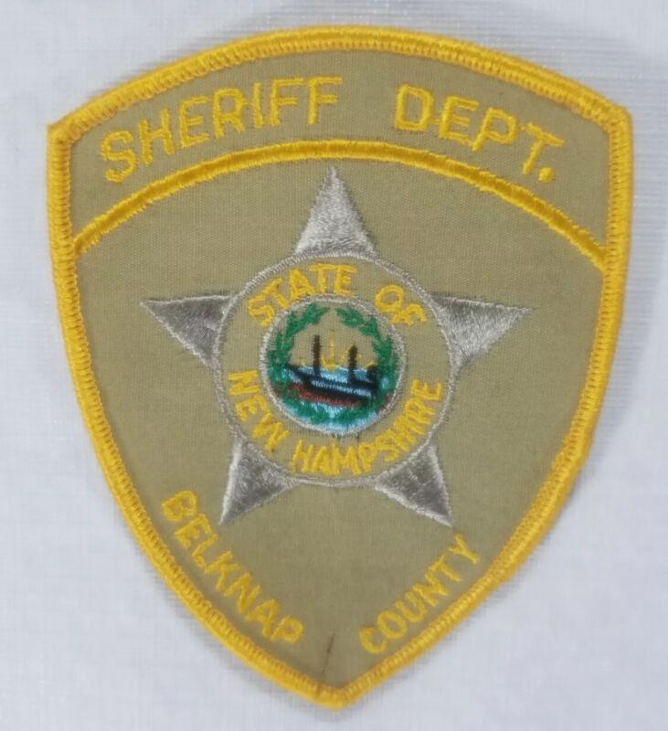 Belknap County New Hampshire Sheriff