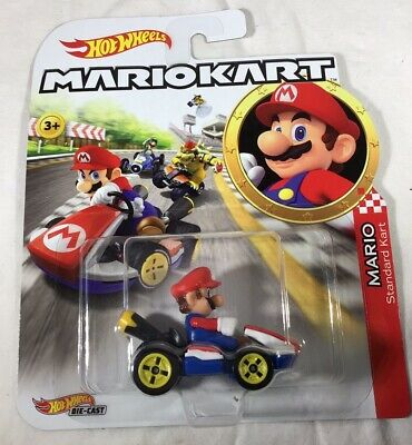 2019 Hot Wheels Mario Kart Series Mario Standard Kart