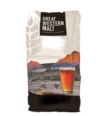 GREAT WESTERN MALT - CRYSTAL C75 - 1 LB Bag - Beer Brewing Grain 1 Lb Beer Grains
