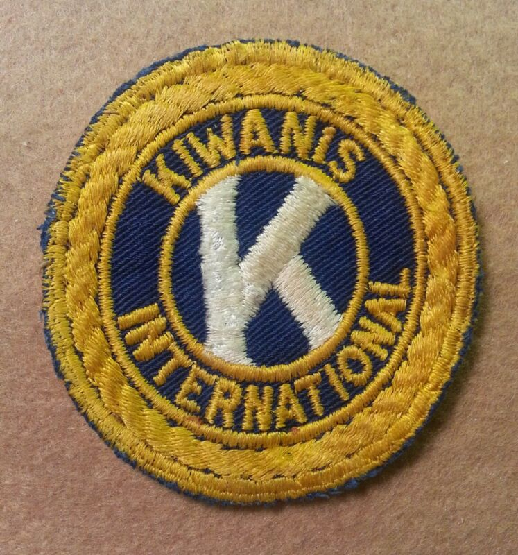 VINTAGE KIWANIS INTERNATIONAL PATCH 1940