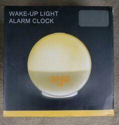 Wake Up Light Alarm Clock Sunrise Sunset Simulation Mothers Day GIFT