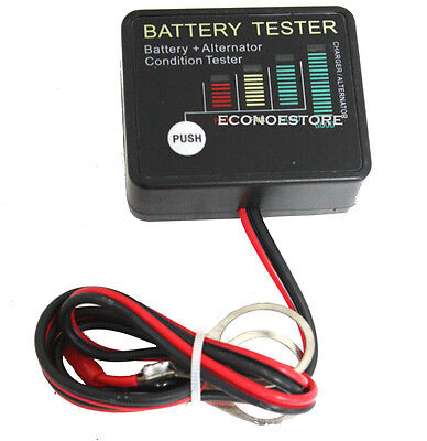 How To Use A Mini Car Battery And Alternator Tester