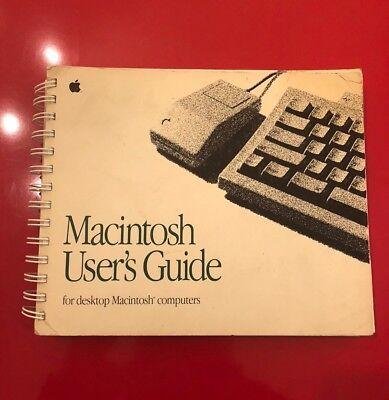 Macintosh Computer User Guide Apple Desktop