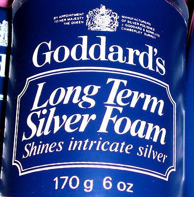 GODDARDS Silver Polish Foam 170g Silber Politur 227ml Antik Kunst ab€5.72/100
