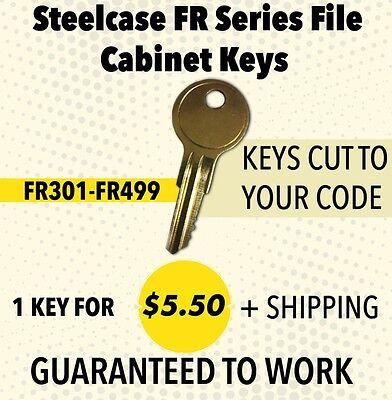 Steelcase File Cabinet Key Fr319 Keys Made By Locksmith