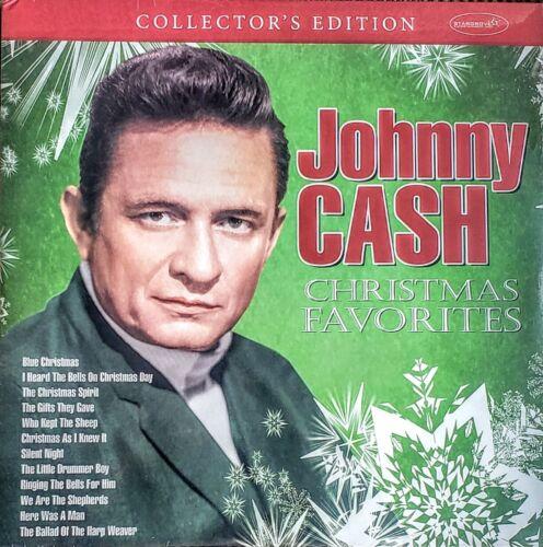 "JOHNNY CASH - CHRISTMAS FAVORITES -  VINYL LP "" NEW, SEALED ""COLLECTOR"