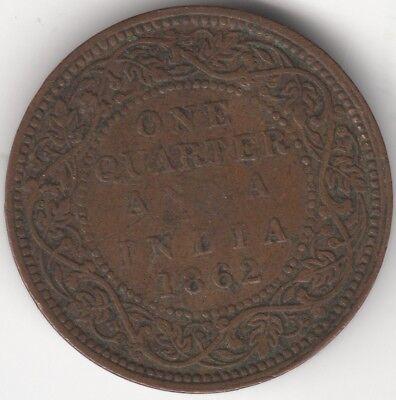 Usado, 1862 British India One Quarter Anna | Pennies2Pounds segunda mano  Embacar hacia Spain