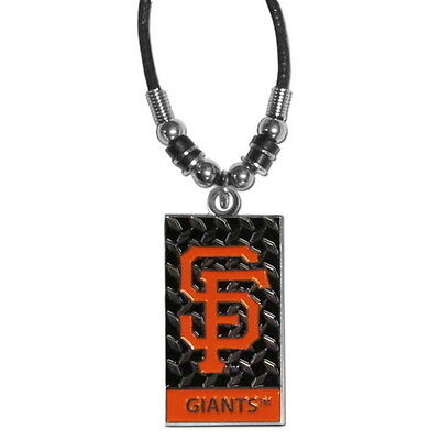 SAN FRANCISCO GIANTS NECKLACE ROPE DIAMOND PLATE MLB OFFICIALLY LICENSED