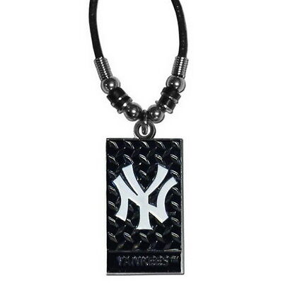- NEW YORK YANKEES NECKLACE ROPE DIAMOND PLATE MLB OFFICIALLY LICENSED