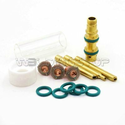 Tig Torch Consumables Gas Saver Wedge Collet 11633218 For Wp-17 18 26 Pk15