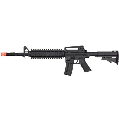 Assault//Rifle//Prop//M16//SAW Extras Airsoft Military Machine Gun with Bipod