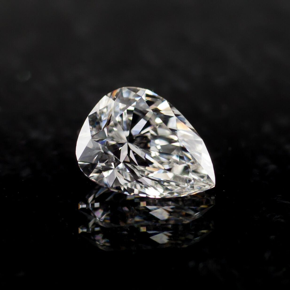1.12 Carat Loose G / VS2 Pear Shaped Cut Diamond GIA Certified