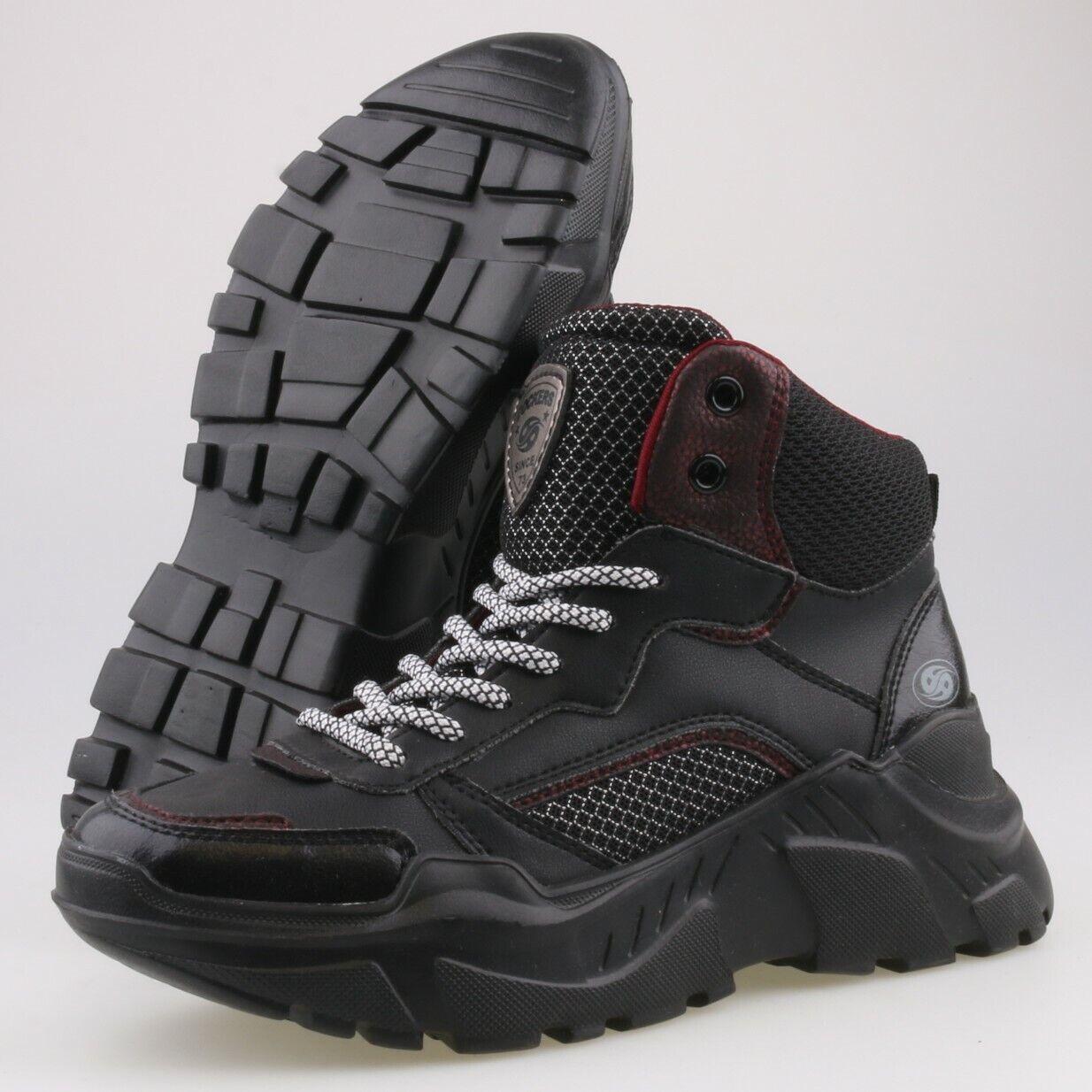 5032-NEU DOCKERS Damenschuhe Gr 36 Schuhe Stiefel Sneaker Plateau Schnürer