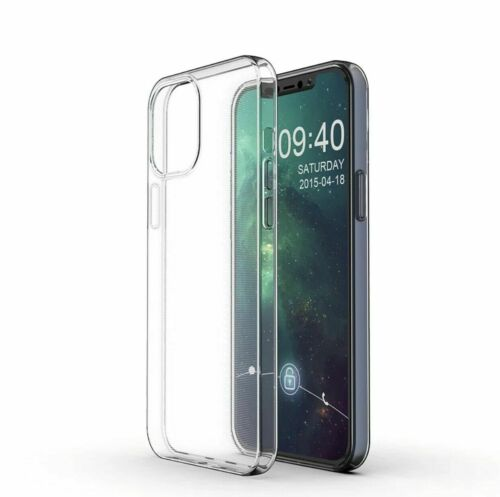 For Apple iPhone 12/12 Pro Max/12 Pro/12 Max Ultrathin Clear TPU Case Soft Cover 6