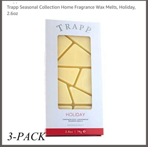 "TRAPP ""HOLIDAY"" Wax Melts 3-PACK"