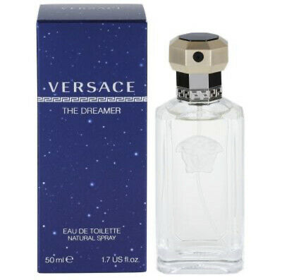 VERSACE THE DREAMER EAU DE TOILETTE EDT 50ML SPRAY - MEN'S FOR HIM. NEW