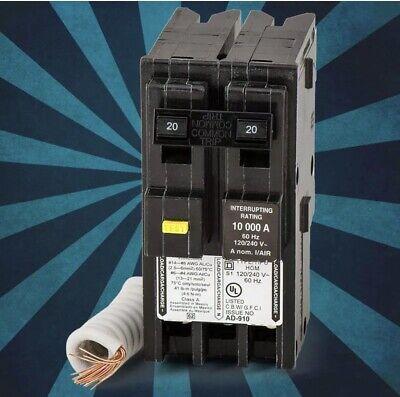 Square D Hom220gfi 220v Circuit Breaker
