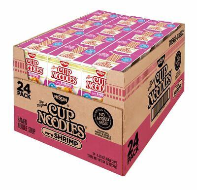 Nissin Cup Noodles with Shrimp, 24 pk./2.5 -