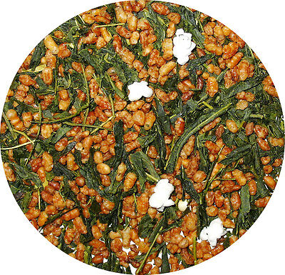 - Japanese Green Tea Genmaicha natural green tea with roasted brown rice  1/4 LB