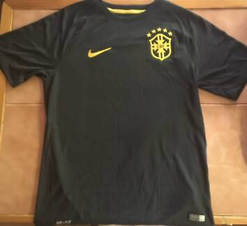 Brazil National Soccer Away Jersey (As New)