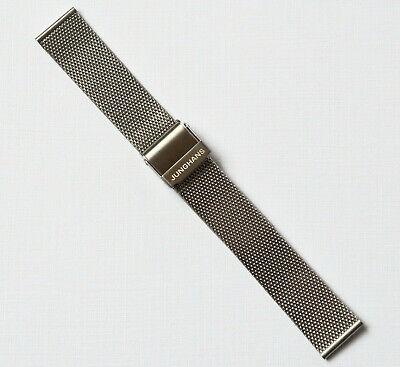 Junghans 420 60-6109 Uhrenarmband Edelstahl 17 mm unbenutzt neuwertig