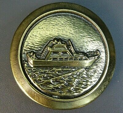 Rare Great American Buckle Co. Yacht Christ Craft Boat 1977 Limited Edition 567 - Christ Craft