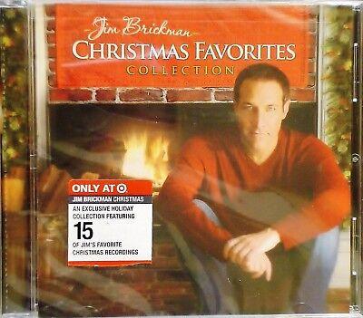 Jim Brickman - Christmas Favorites Collection CD Target Exclusive