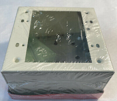 New Legrand V5744-2 Extra Deep Switch And Receptacle Box 2 Gang Ivory